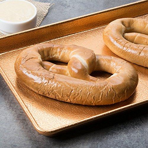 PretzelHaus Bakery Authentic Bavarian Plain Soft Pretzel, Pack of 10 by PretzelHaus Bakery (Image #4)