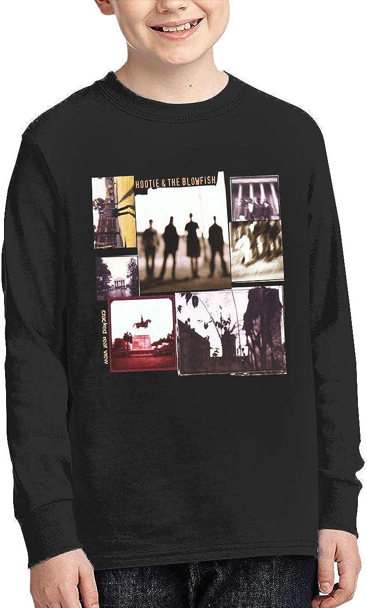 Optumus Hootie-and-The-Blowfish Kids Sweatshirts Long Sleeve T Shirt Boy Girl Children Teenagers Unisex Tee