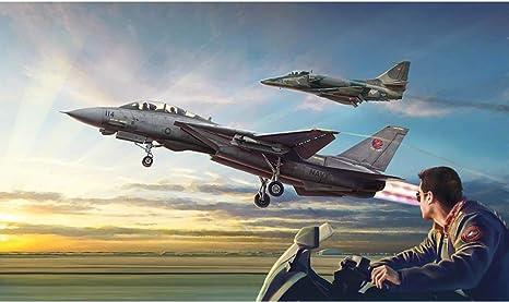 Amazon   【イタレリ】1422)1/72 映画「トップガン」 F-14A vs A-4F ...