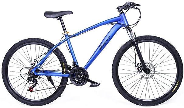 Riscko Bicicleta de Aluminio Mountain Bike Explorer Azul 16 kg ...