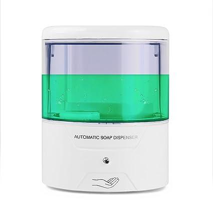 Para instalación en pared dispensador de jabón automático Sensor de infrarrojos dispensador de jabón automático Touchless