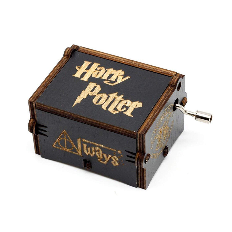 Carillon Harry Potter in pura mano-classica Carillon musicale in legno a mano Artigianato in legno creativi I migliori regali nhc