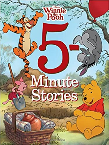 Amazon 5 minute winnie the pooh stories 5 minute stories amazon 5 minute winnie the pooh stories 5 minute stories disney book group disney storybook art team christmas voltagebd Image collections