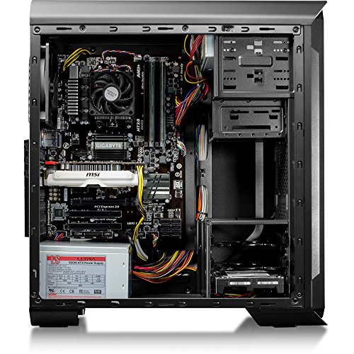 CybertronPC Rhodium GTX Gaming Desktop - AMD FX-6300 3.50GHz Hexa-Core Processor, 16GB DDR3 Memory, NVIDIA GeForce GTX 950 (2 GB GDDR5 SDRAM) Graphics, 802.11ac Wireless, 2TB HDD, DVDRW, Windows 10