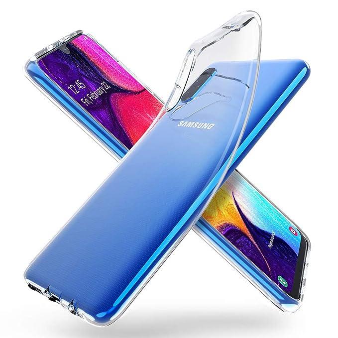 31 opinioni per ORNARTO Crystal Clear Cover Galaxy A50, Estremamente Sottile Morbida e