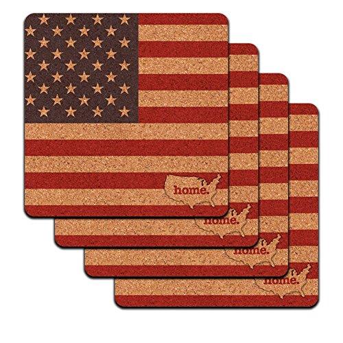 United America Country Profile Coaster