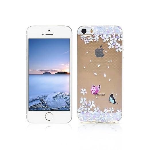 50 opinioni per Cover iPhone 5s Custodia TPU Silicone OuDu Cover iPhone 5 Cassa Gomma Soft