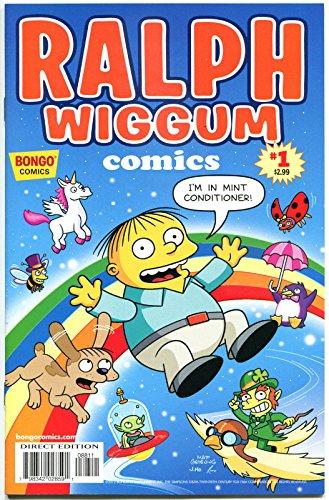 RALPH WIGGUM #1, NM, Police child, Bart Simpson, Matt Groening, Bongo, 2012, MC
