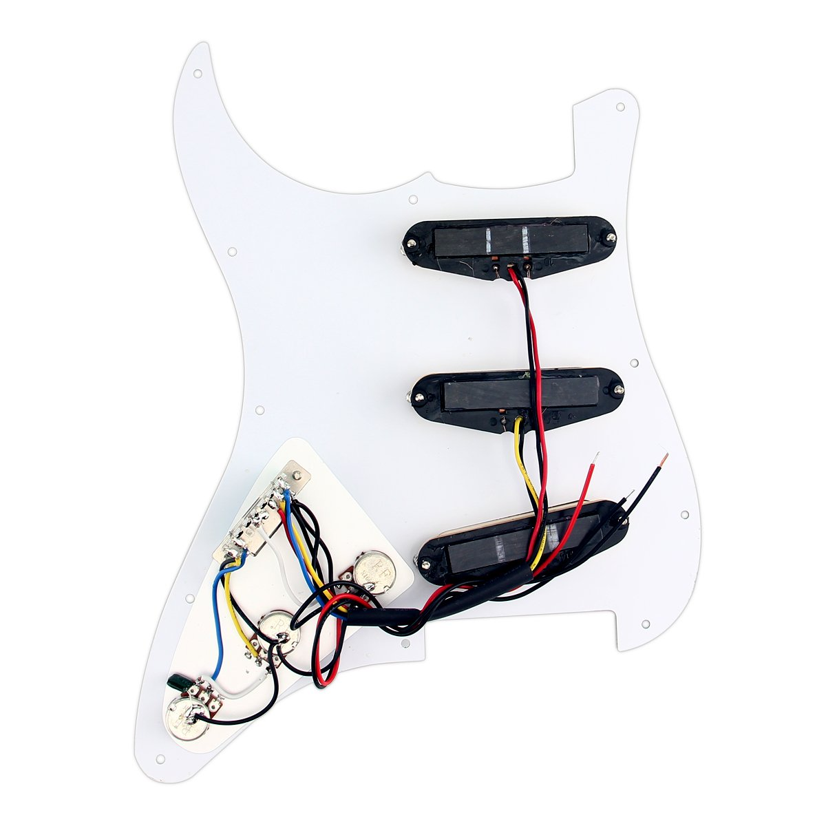 Amazon.com: Electric Guitar Loaded Prewired Pickguard Scratch Plate ...