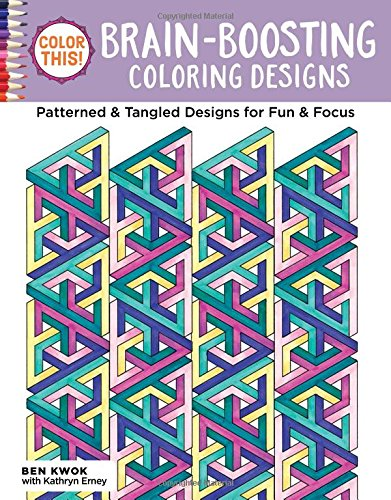 Color This Brain Boosting Coloring Designs product image
