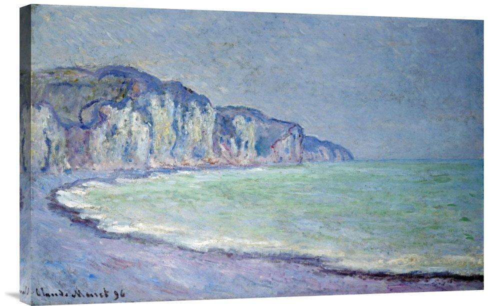 Global Galerie Budget gcs-265216–76,2–360,7 cm Claude Monet Klippen bei Pourville Galerie Wrap Giclée-Kunstdruck auf Leinwand Art Wand B01K1PMZ0G | Erlesene Materialien