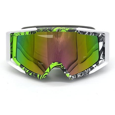 c9e8531547d8 Evomosa Adult Motocross Motorcycle ATV Off-Road Eyewear Snowboard Ski Bikes Helmet  Goggles Glasses Sunglasses