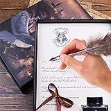 GloDeals Antique Dip Feather Pen Set, Calligraphy