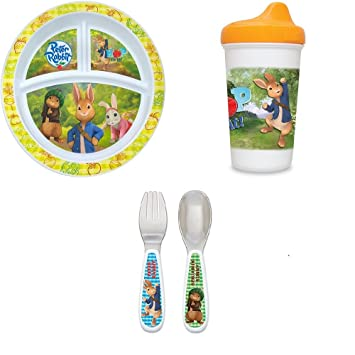 red//green Nuby Fun Feeding Spoons /& Forks 2-Pack one size