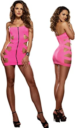hot pink club dress - Dress Yp