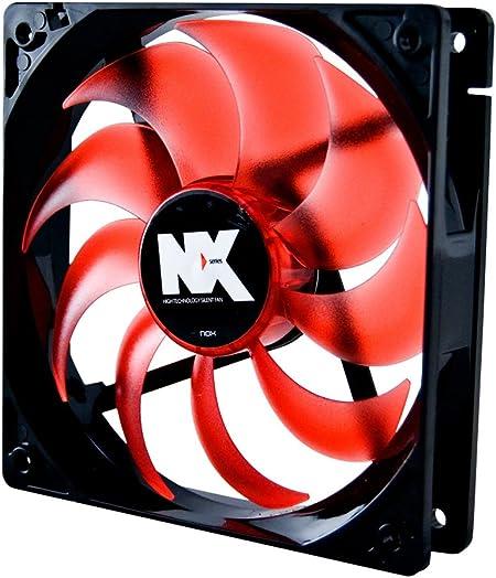 Nox NXF120 - Ventilador para caja de ordenador (2.76 W, 40.5 CFM ...
