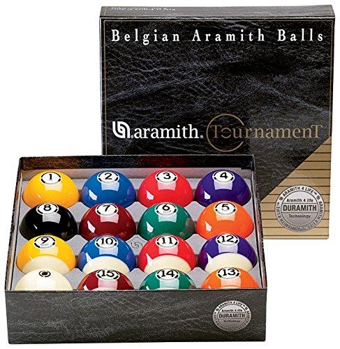 Aramith 57.2mm Tournament Billard Pool Ball Set/16 Balls by Aramith