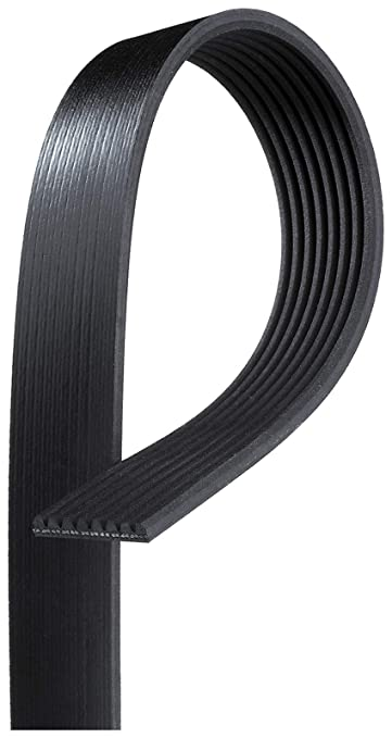 8 Rib Poly-V Belt Goodyear 4081035 Serpentine Belt Equivalent 1035K8 2 Pack