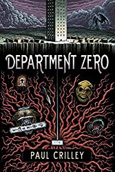 Department Zero by Paul Crilley horror book reviews