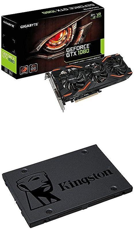 Gigabyte GV-N1080WF3OC-8GD - Tarjeta gráfica NVIDIA GeForce GTX ...