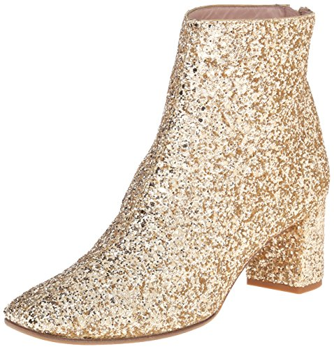 kate spade new york Women's Tal Boot, Gold Glitter, 6 UK/6 M - Uk Ladies Boots Designer