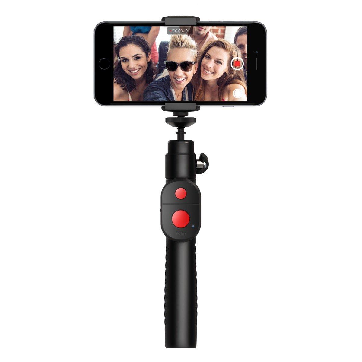 IK Multimedia iKlip GO Stylish, Extendable Monopod for Smartphones & Action Cameras