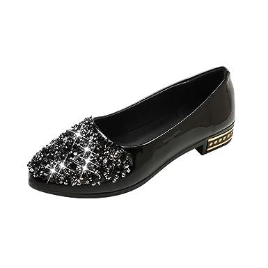 DENER Women Ladies Girls Slip on Flats Loafers 855d7b0d9a62