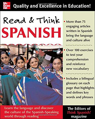 Read And Think Spanish (Book): The Editors of Think Spanish Magazine