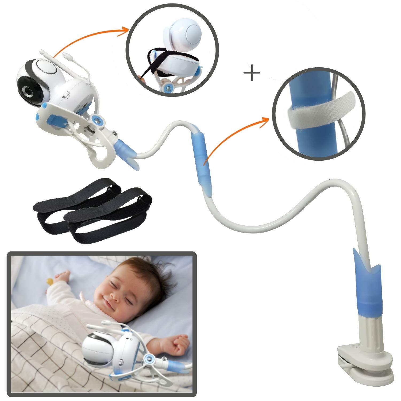 ÿolle   Universal-Monitor mit Riemen, flexibel, Baby Kamerahalterung mit   kein Bohren   sicherer Monitor für Ihr Baby yolle