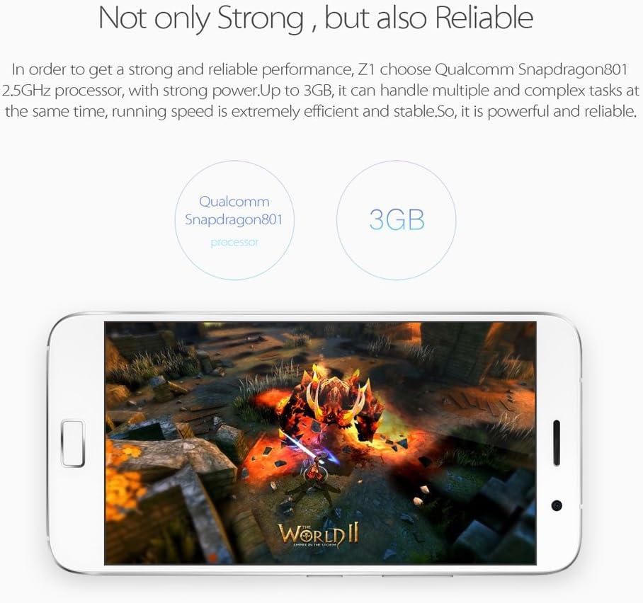 ZUK Z1 teléfono inteligente 4G 5.5 pulgadas IPS pantalla Cyanogen ...