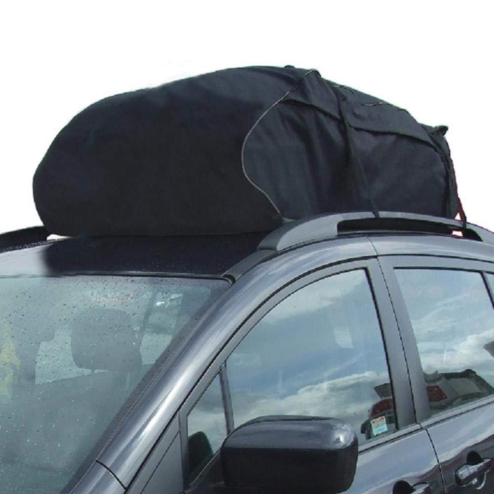 FancyU Borsa da tetto per auto scatole da tetto impermeabili per auto con cinghie larghe per viaggi lunghi e trasporto bagagli