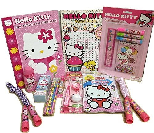 Hello Kitty Gift Basket, Perfect for Girls 3-8 Years Old