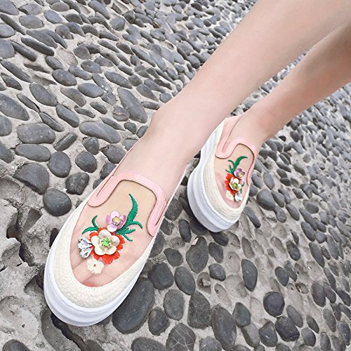 amp;b207 202 Donna Slippers Bobo Anmengxinling Pink 8q41Ffqx