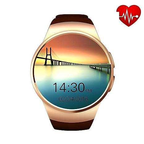 AZWE Reloj inteligente de moda, pantalla táctil Smartwatch ...