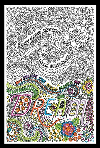 """Tobin 4004 10 x 16"""" Dream Zenbroidery Stamped Embroidery"""