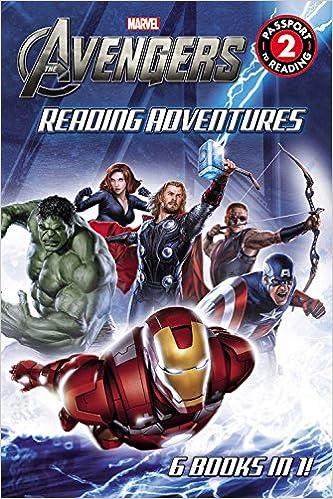 Amazon com: Marvel's The Avengers Reading Adventures