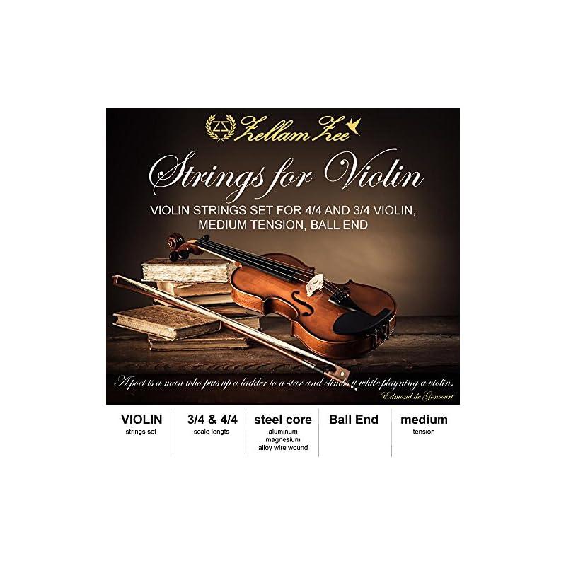 Violin strings set 3/4, 4/4, Full Set be
