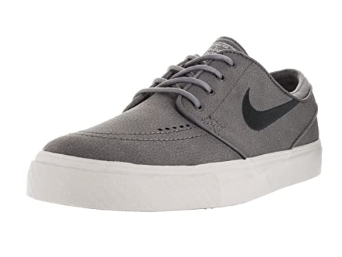 a3c484577501d Nike SB Zoom Stefan Janoski Premium (Anthracite/Dark RaisinSail) Men's  Skate Shoes