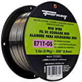 Forney 42300 Flux Core Mig Wire, Mild Steel E71TGS.030-Diameter, 2-Pound Spool, Silver, Pack of 1