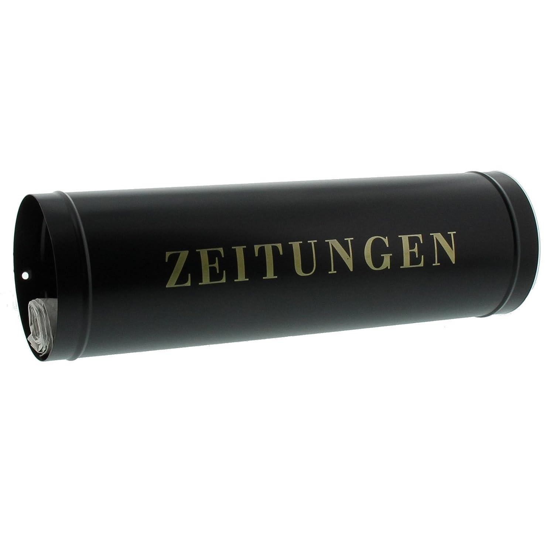 Burg-Wä chter - Compartimento de perió dicos para buzó n (40 cm de longitud, 12 cm de diá metro), Zeitungsbox 800 W 12 cm de diámetro) Burg-Wächter 13750