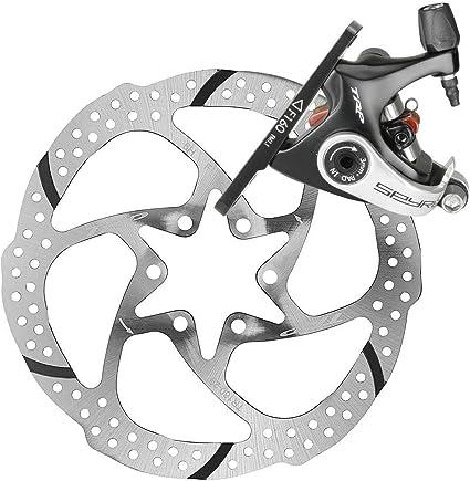 TRP SPYRE Road Bike Alloy Mechancial Disc Brake Caliper w//160mm Rotor Front//Rear
