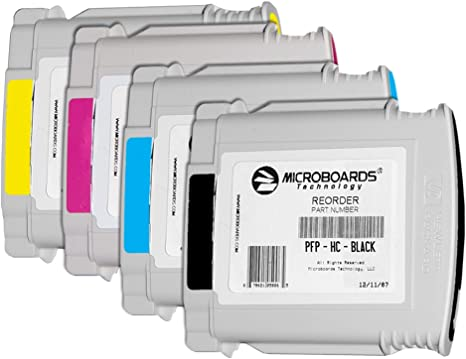 Black//Yellow /& Cyan//Magenta Microboards =PRINTHEAD SET= FOR MX//PF-PRO 2-Pak