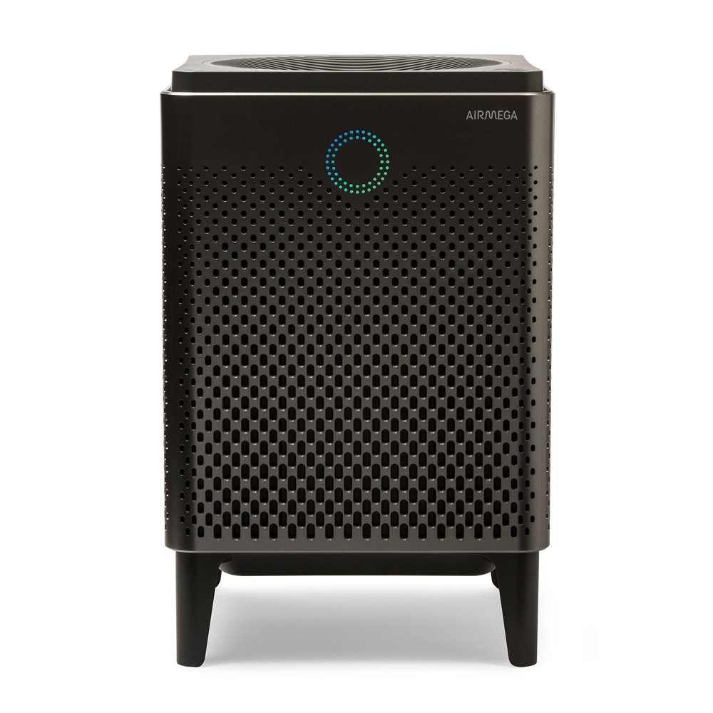 Coway Airmega 400S in Graphite/Silver WiFi Enabled Smart Air Purifier with 1,560 sq. ft. Coverage and works with Amazon Alexa and Dash Replenishment
