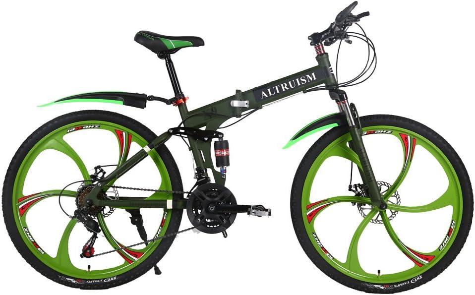 Altruism 26 Pulgadas Mountain Bike para Hombres y Mujeres con ...