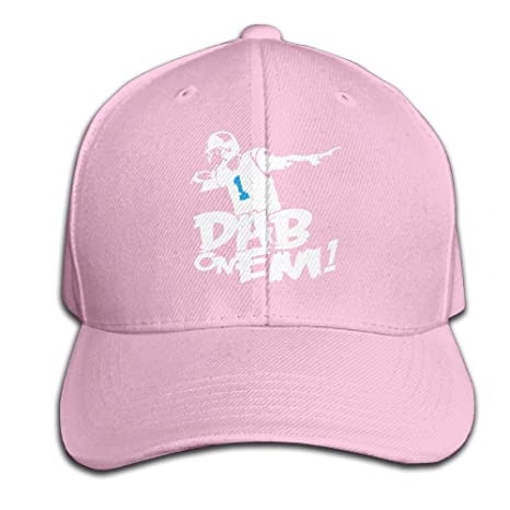 Panthers Cam Newton Dab On Em  1 Baseball Cap For Men Women Pink (7  Colors)  Amazon.ca  Clothing   Accessories 70e11ed4a2