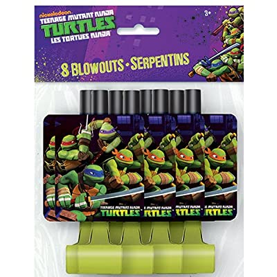 Teenage Mutant Ninja Turtles Party Blowers, 8ct: Toys & Games