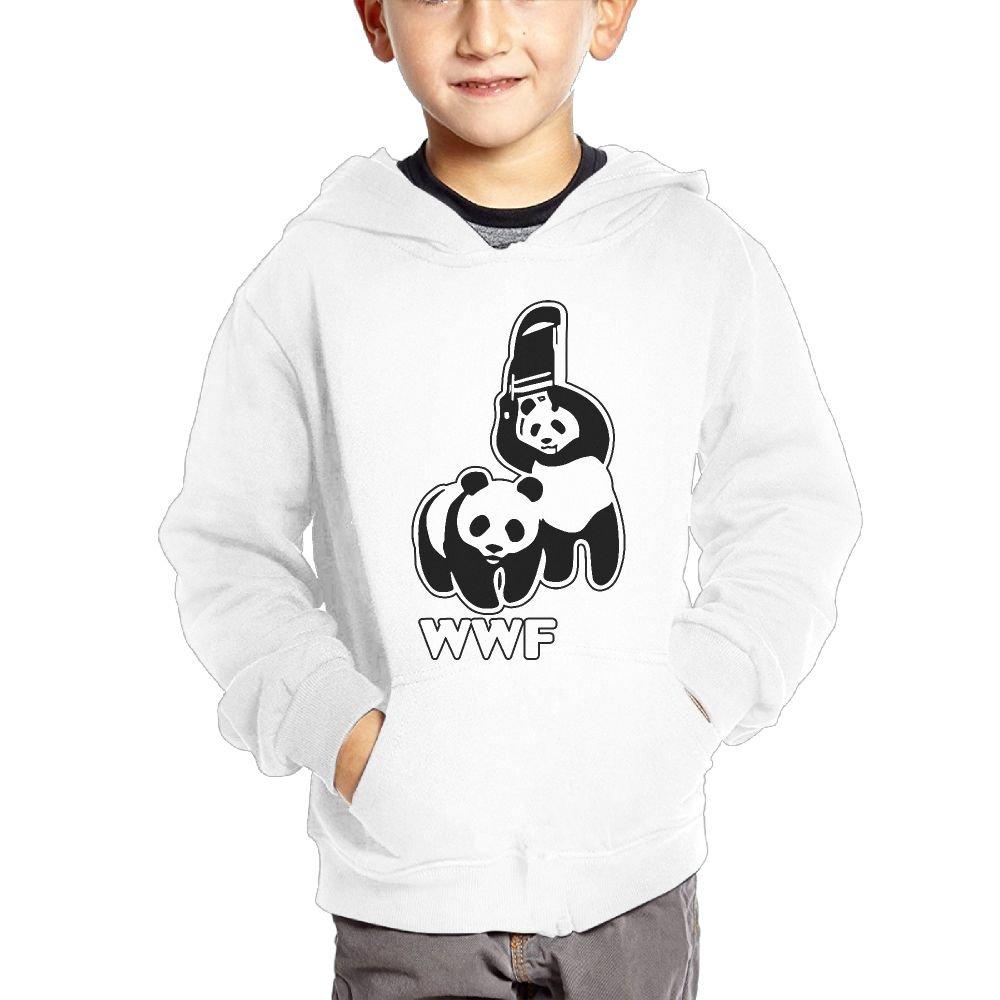 Cztdo Ouybn WWF Funny Panda Bear Wrestling Cotton Pullover Hoodie Sweatshirts For Unisex Children's Hoody by Cztdo Ouybn