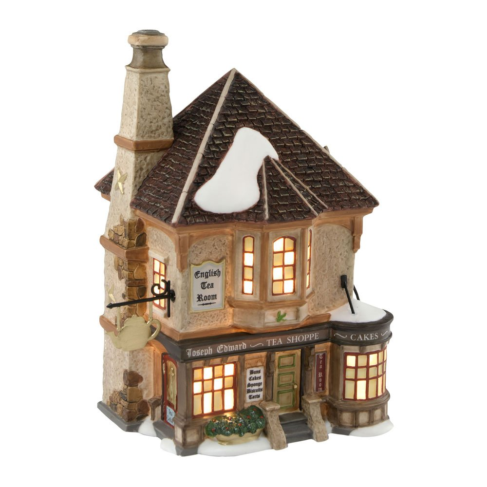 Department 56 Dickens' Village Joseph Edward Tea Shoppe by Department 56