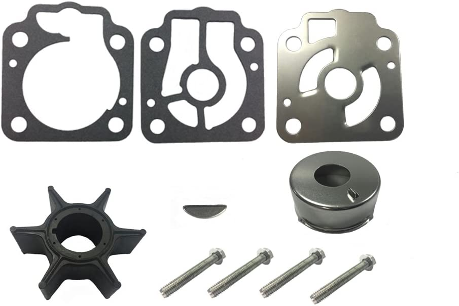 Full Power Plus Nissan Tohatsu Water Pump Impeller Kit Replacement for 40HP 50HP TLDI 3T5-87322-3 2 Stroke 4 Stroke