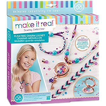 Amazon.com: Make It Real – Bedazzled! Charm Bracelets ...